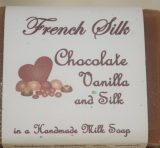 French Silk Soap – Chocolate Vanilla Silk