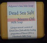 Dead Sea Salt with Neem Oil Soap
