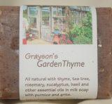 Grayson's Garden Thyme Soap