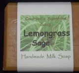 Lemongrass Sage Soap – Courson's Sunshine Soap