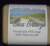 Sea Breeze with Dead Sea Salt Soap