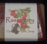 Raspberry Cream Soap